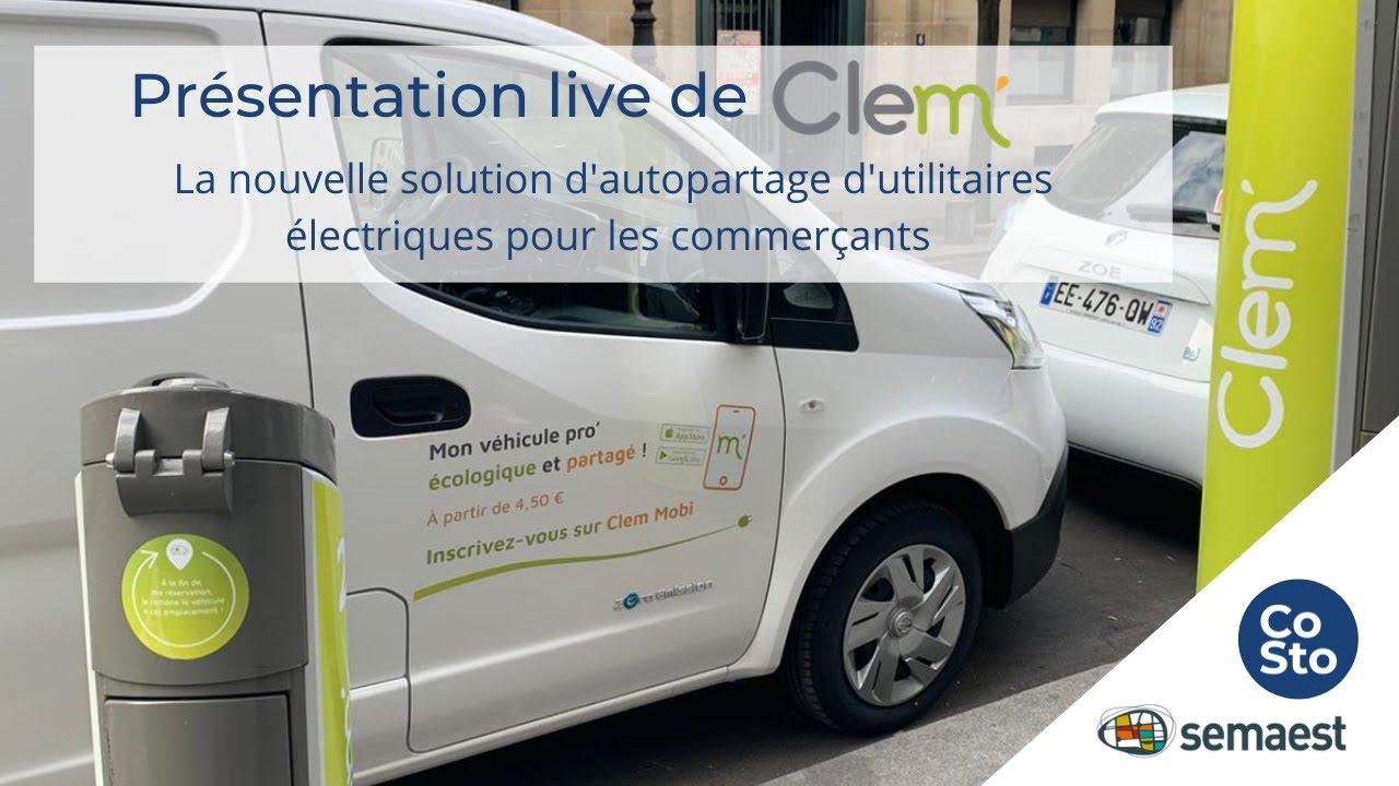 Replay de notre webinar organisé avec Costo sur notre service de véhicules utilitaires électriques