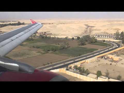 Landung in Luxor airberlin Airbus A320-214 D-ALTH