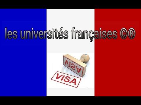 Les 7 universités françaises qui vous assure votre visa au consulat ?