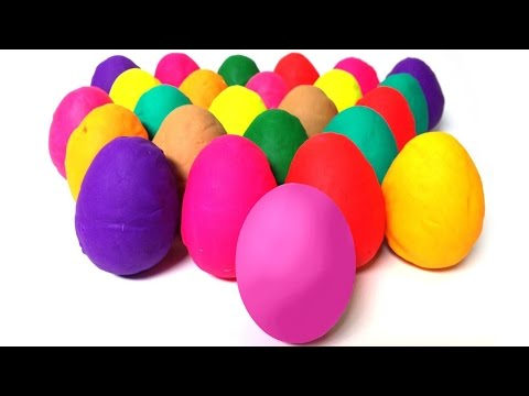 Play Doh Eggs Peppa Pig Surprise Egg Angry Birds Mickey Mouse Thomas & Friends Cars 2 Surprise Eggs