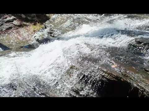Peaceful falls on Big Leatherwood Creek