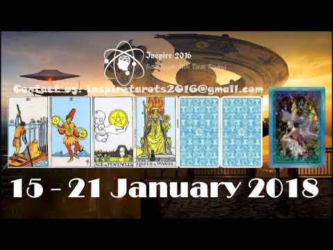Capricorn Weekly Tarot Reading 15 - 21 January 2018 (Special Capricorn New Moon) - Duur: 18:03.