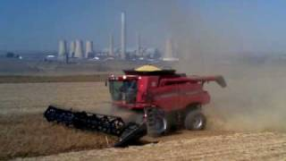 case ih 7120 combine in south afica