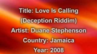 Duane Stephenson- Love Is Calling