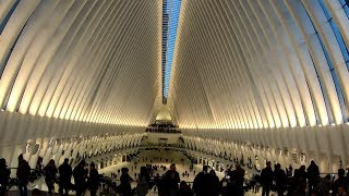 ⁴ᴷ⁶⁰ Walking Tour of World Trade Center Oculus and Brookfield Place, NYC