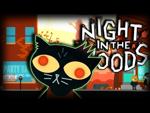 Night In The Woods - Part 2 ► WASTED IN THE WOODS