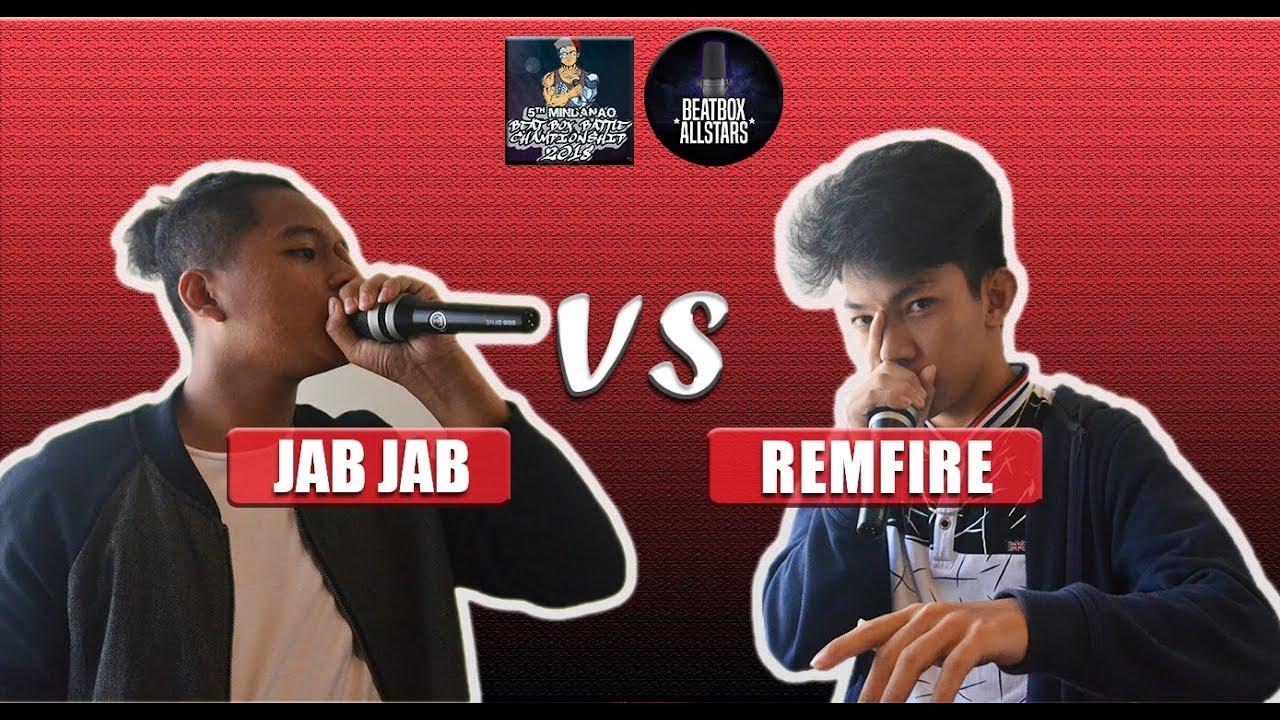 JAB JAB vs REMFIRE   MBBC Top 16 Beatbox Battle