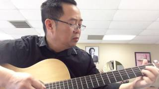 Con Yeu. Loi Cam Van.  Nhac Philipin.  Guitar Tien Nguyen