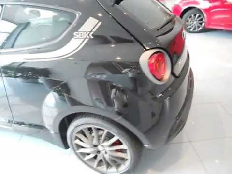 alfa romeo mito qv sbk 170cv nera youtube. Black Bedroom Furniture Sets. Home Design Ideas