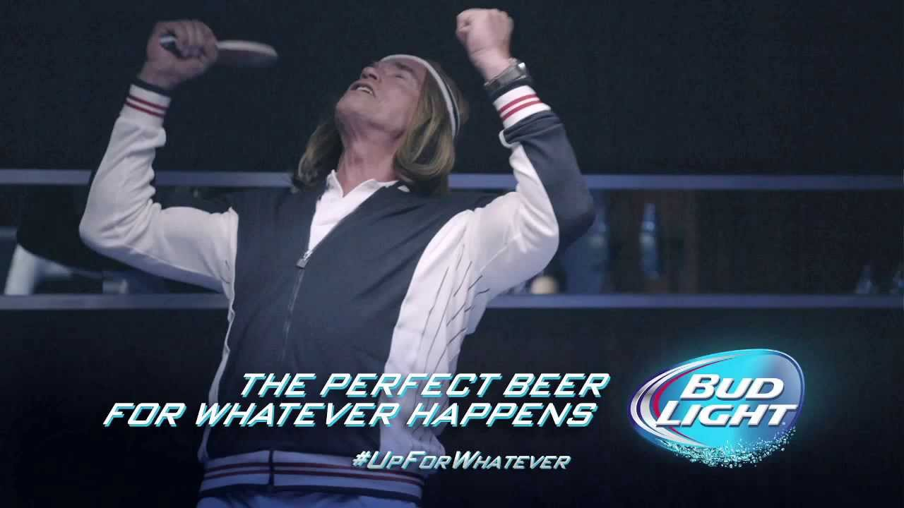 Bud light super bowl xlviii 2014 commercial arnold bud light super bowl xlviii 2014 commercial arnold schwarzenegger ping pong ad extended scenes aloadofball Choice Image
