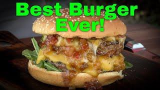 """Junebug"" Double Bacon Cheeseburger Recipe | The Best Cheeseburger Ever!"