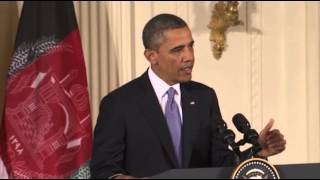 Obama: Afghan War Coming to an End