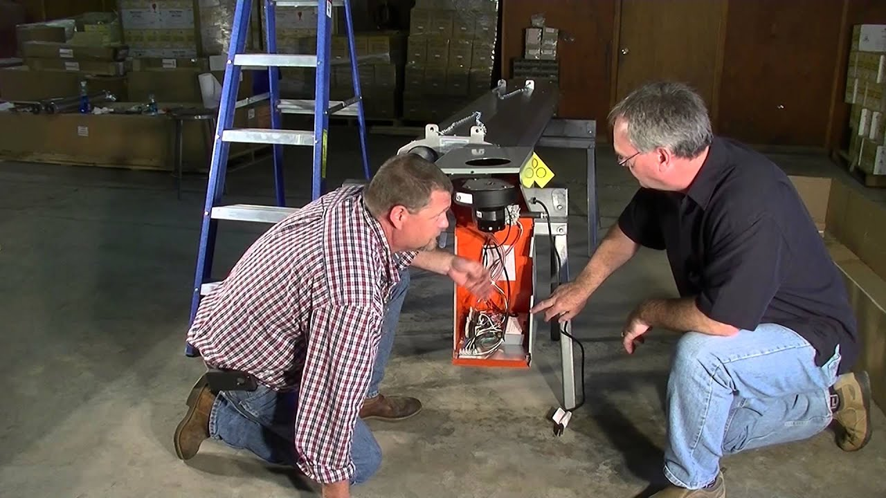 How To Install A P40 R Infrared Garage Heater Bluehawk