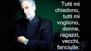 Plácido Domingo - Largo al Factotum (Figaro) - Il Barbiere di Seviglia