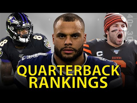 Rankings the NFL QB's from Worst to First