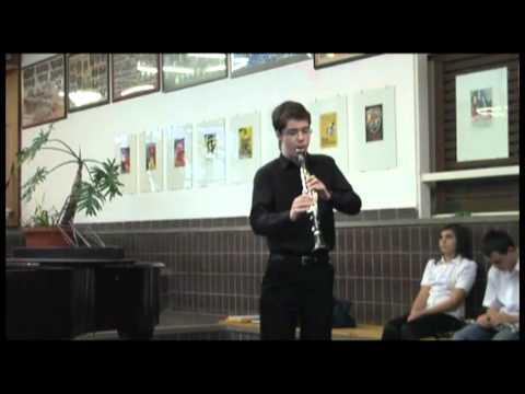 Gyimesi Bálint C M Weber: F - moll koncert I