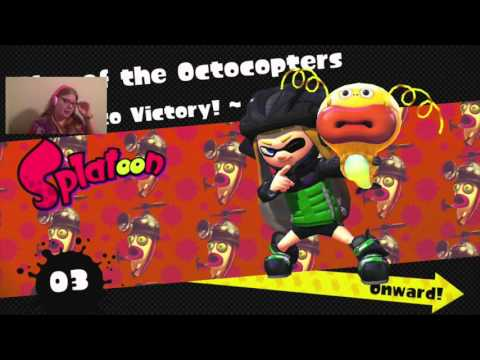 Splatoon - part 4 - Octocopters and Octoweapons