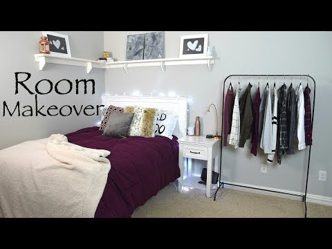 Fall Bedroom Makeover! + DIY Room Decor and Organization