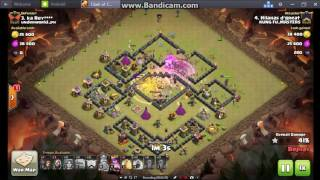 Clash of Clans...again HILAHAS POGI D'GREAT easy burn enemy base kakakakakaka