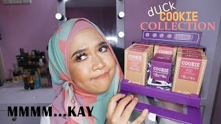 FIRST IMPRESSIONS | dUCK Cosmetics Cookie Collection