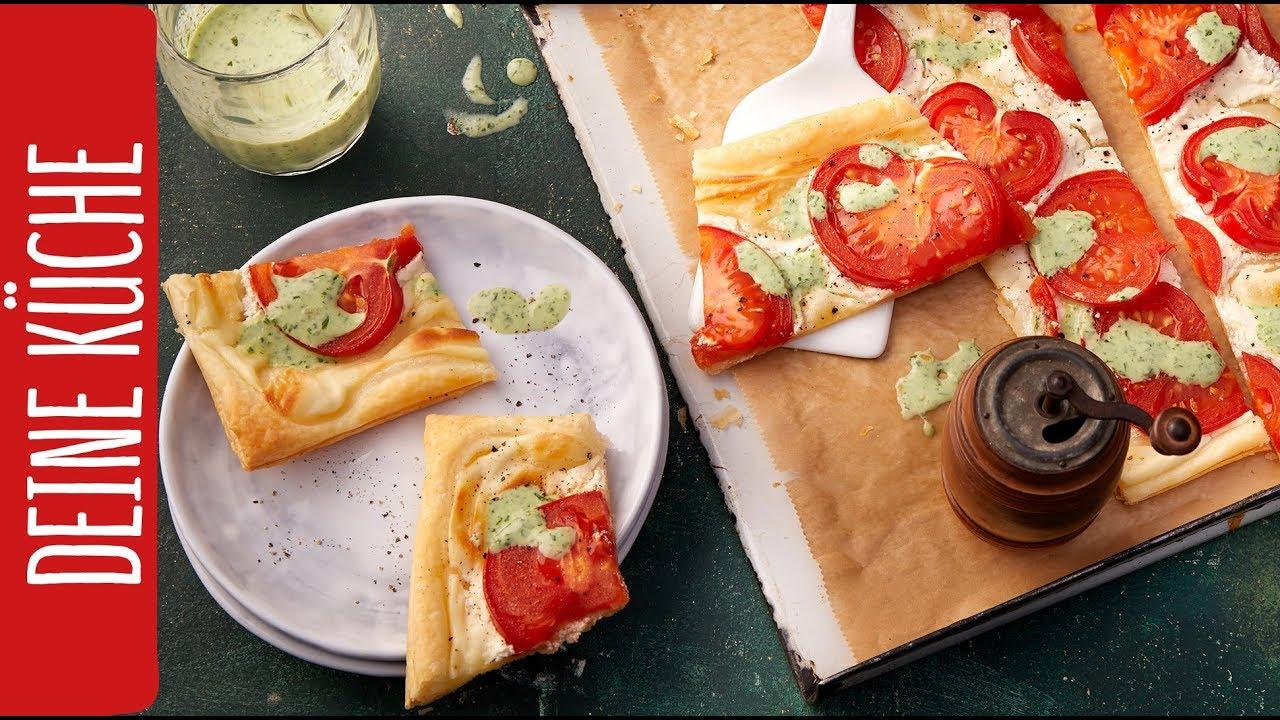 Schnelle Tomatenschnitten | REWE Deine Küche