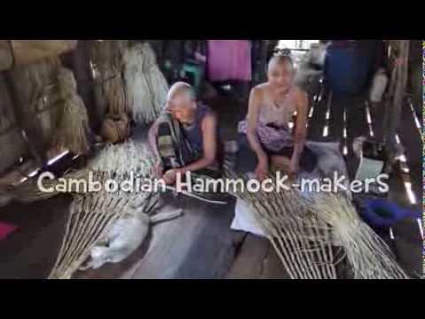 Cambodian Hammock-makers