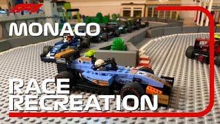 The 2021 Lego Formula 1 Monaco Grand Prix
