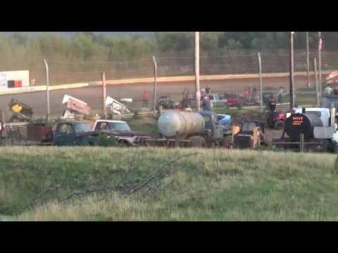 Sprint cars at 35 Raceway