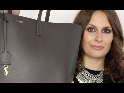 d5db44555ac What's In My Bag? YSL Tote with Samorga - YouTube