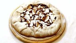 Пирог с яблоками (галета). Лучший и самый простой в приготовлении постный пирог #быстро_к_чаю