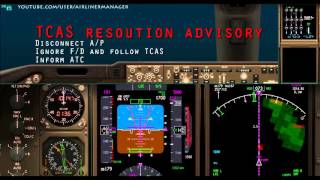 boeing 747 400 tcas ra resolution advisory approaching hong kong