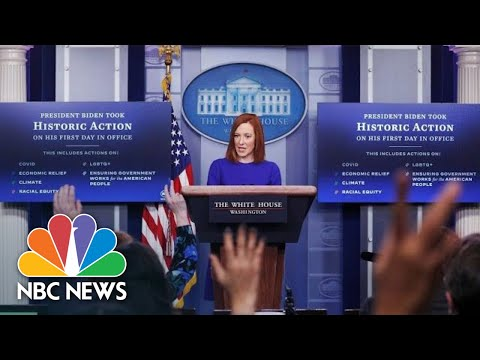Live: White House Holds Press Briefing: January 29 | NBC News