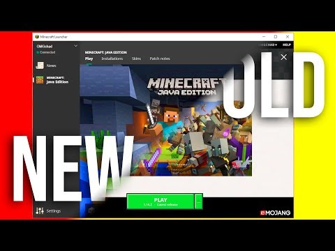 Minecraft Java's New Launcher!