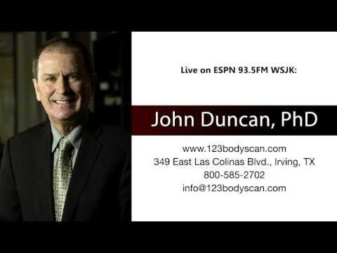 Dr. John Duncan live on the radio in Illinois
