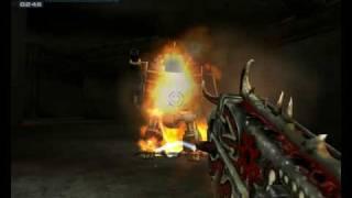 Warhammer 40'000 Fire warrior vs Chaos Dreadnought