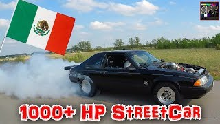 TEST HITS IN MEXICO BEFORE THE SPP NO PREP RACE | Clayton's Turbo SBF Mustang on the STREET thumbnail