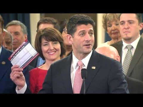 GOP unveils tax plan (full event)