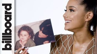 Ahead of receiving the Woman of the Year award at Billboard's Women in Music event, Ariana Grande looks back at childhood photographs and shares advice ...