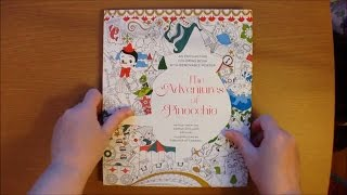 The Adventures of Pinocchio by Fabiana Attanasio Colouring Book, story and Poster Flipthrough