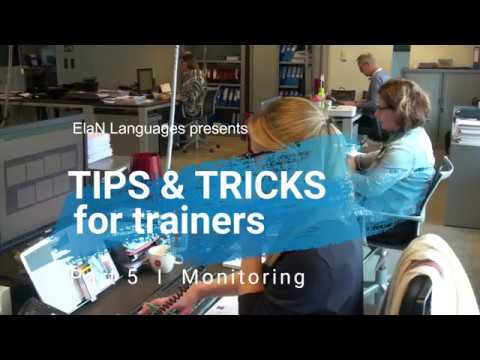 Tips & tricks for trainers, #5