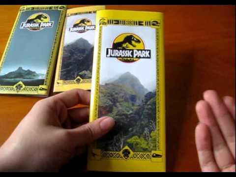 Jurassic World Map Pdf. Jurassic Park Brochure Prop Replica  YouTube