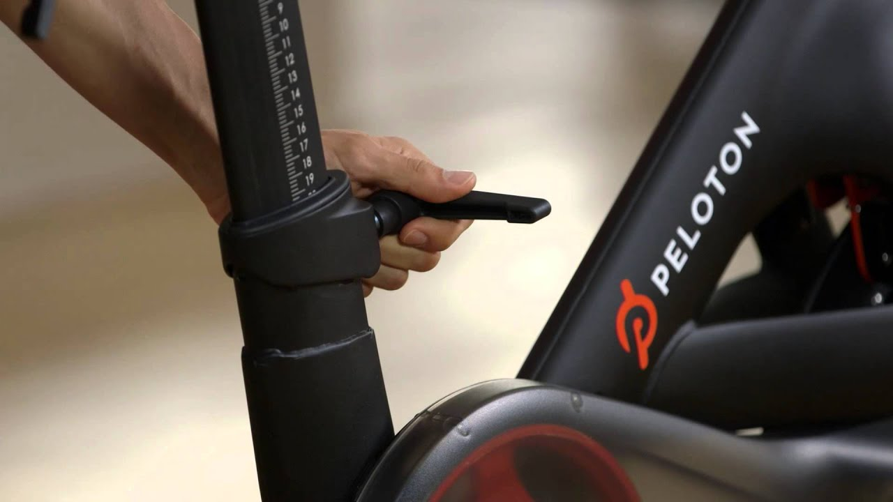 Peloton Support Adjusting The Levers Youtube