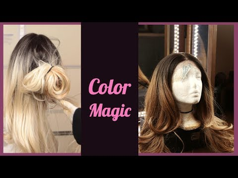 DIY $15 Dye Job - Better than a Salon | Cheap Synthetic Wig