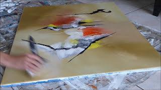 Peinture abstraite acrylique (9)- Abstract Painting Techniques - Althea Artiste Peintre - BJArt