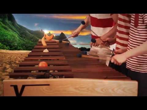 Zelda Wind Waker - Dragon Roost Island on Marimba