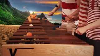 Zelda Wind Waker - Dragon Roost Island on Marimba