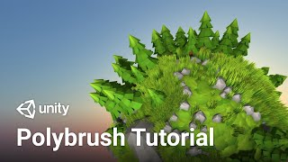Make a Planet in Unity 2019 with Polybrush! (Tutorial)