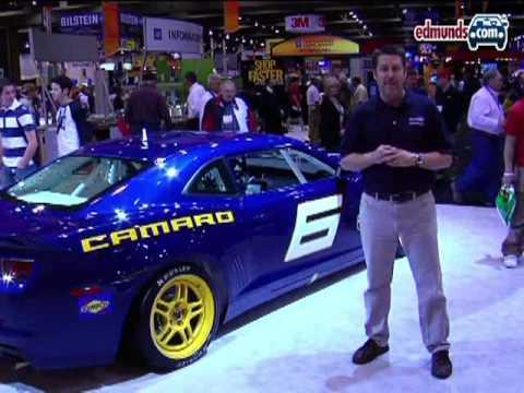 Chevrolet Camaro Gs Racecar Concept 2008 Sema Edmunds Youtube