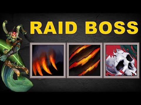 Raid Boss Medusa [ Fury Swipes + Overpower + PA's Ultimate ] | Dota 2 Ability Draft