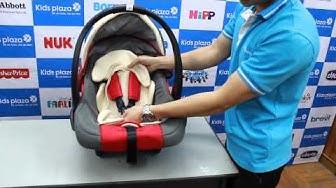 Ghế ngồi ô tô cho bé 2 trong 1 MamaKids Z33C - KidsPlaza.vn